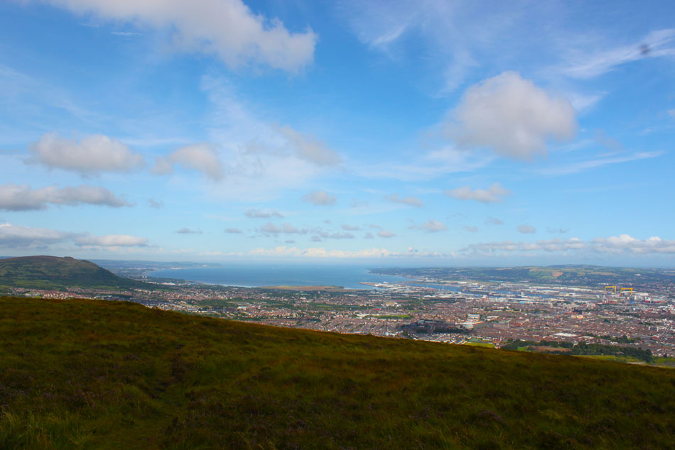 View from the summit of the Black Mountain, Belfast (c) Aptalops