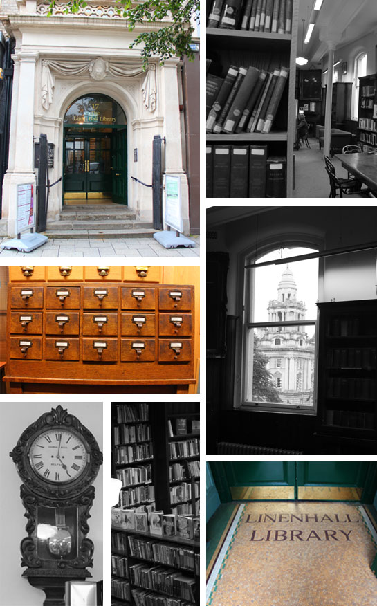 Linen Hall Library photo collage (c) Aptalops